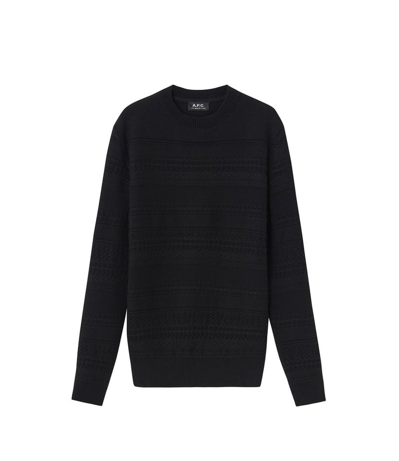 This is the Nicolas sweater product item. Style LZZ-1 is shown.