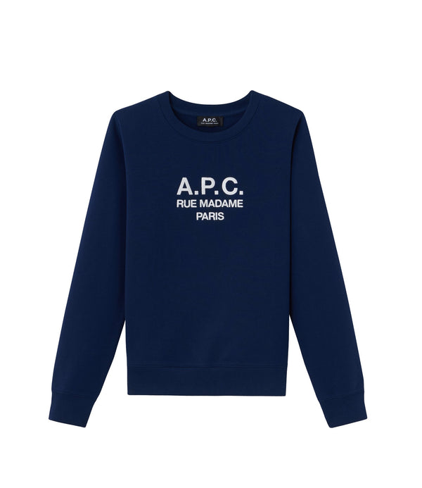Tina sweatshirt - IAJ - Navy blue