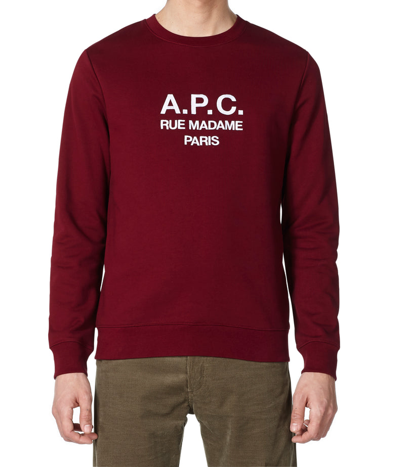 This is the Rufus sweatshirt product item. Style GAC-2 is shown.