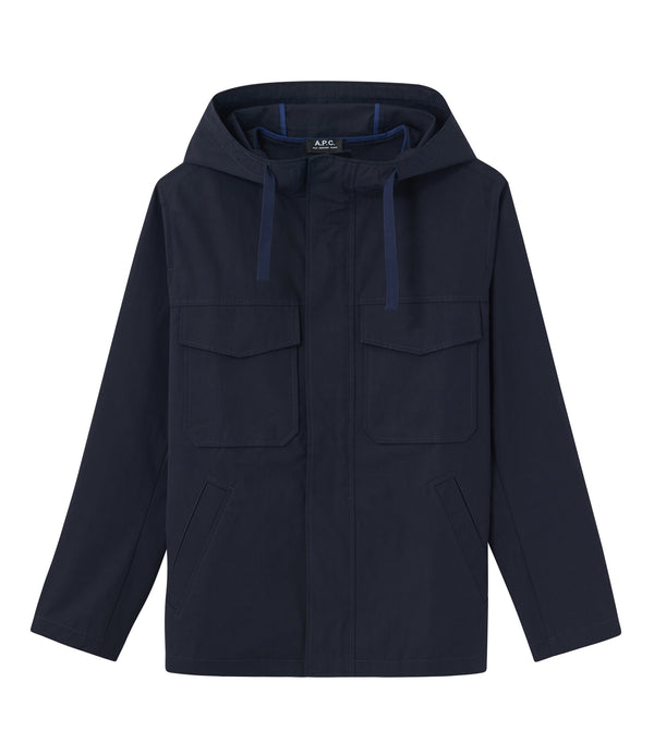 Ray parka - IAK - Dark navy blue