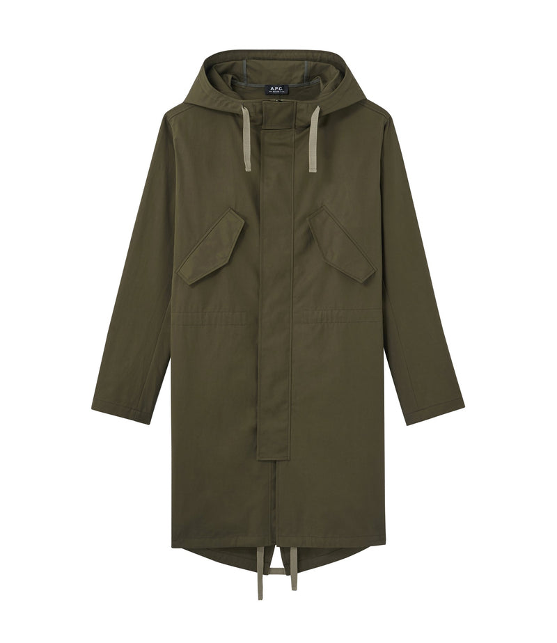 This is the Benett parka product item. Style JAC-1 is shown.