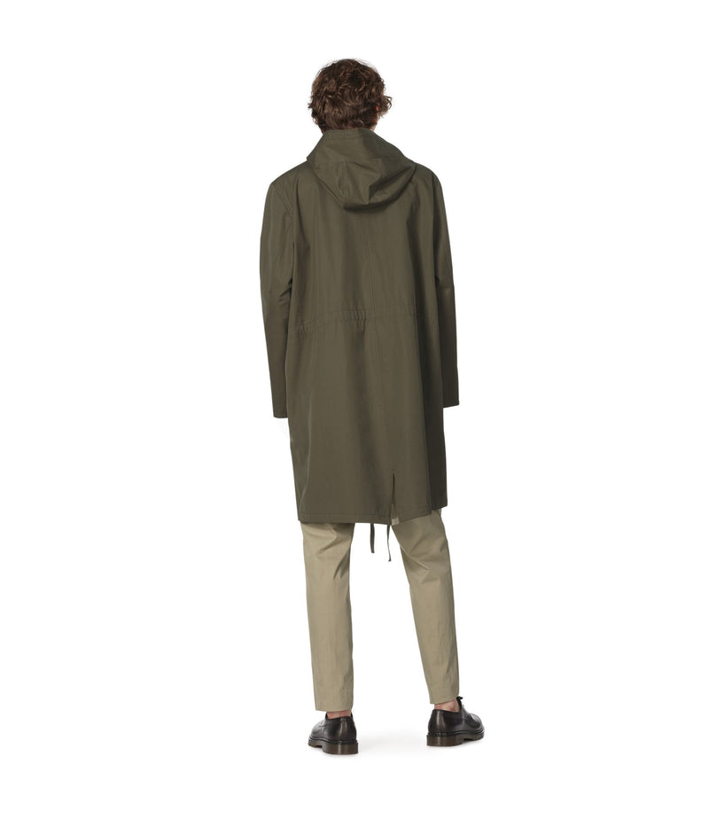 This is the Benett parka product item. Style JAC-3 is shown.