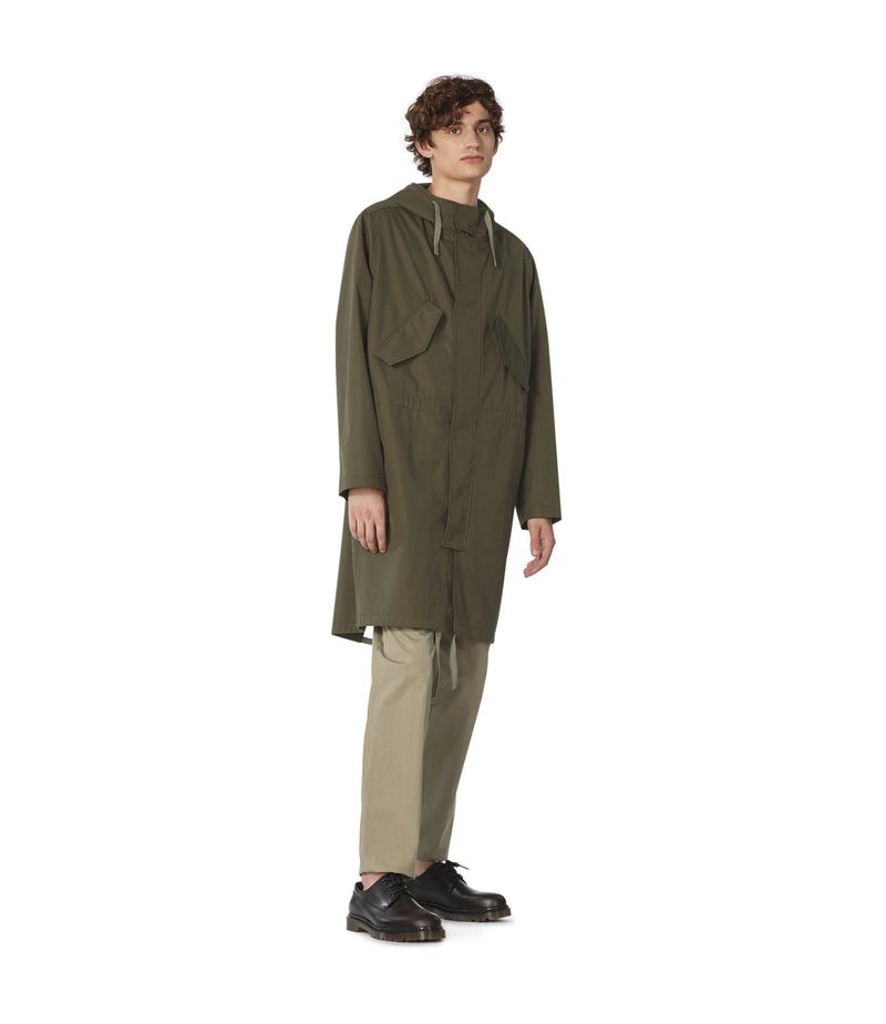 This is the Benett parka product item. Style JAC-2 is shown.