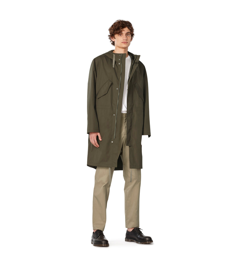 This is the Benett parka product item. Style JAC-4 is shown.