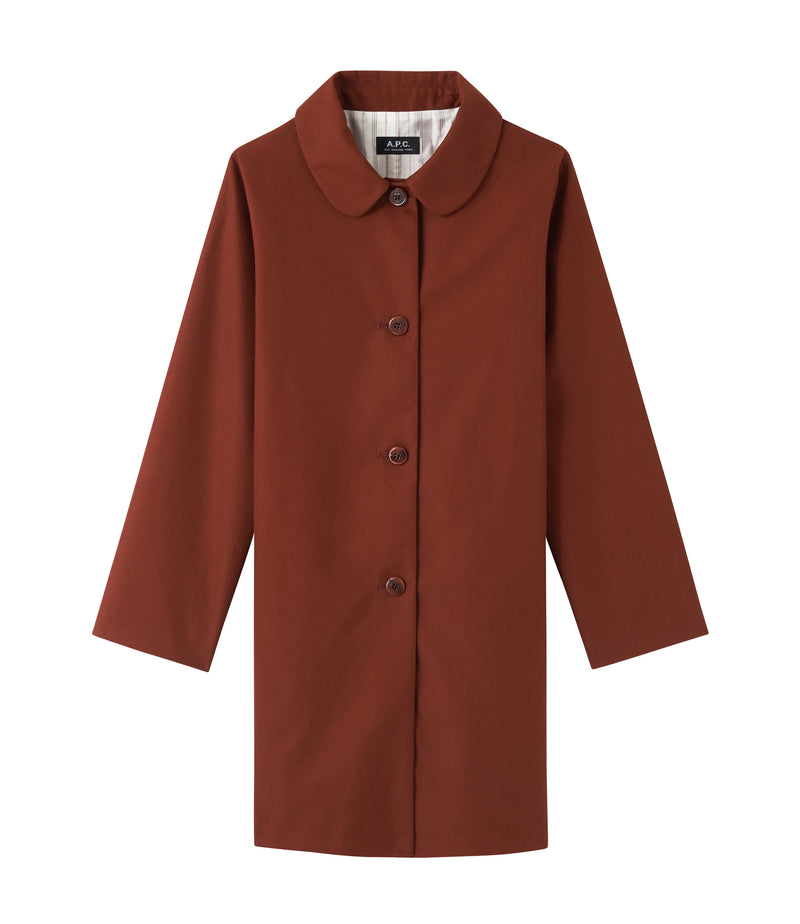 This is the Short Poupée coat product item. Style EAF-1 is shown.