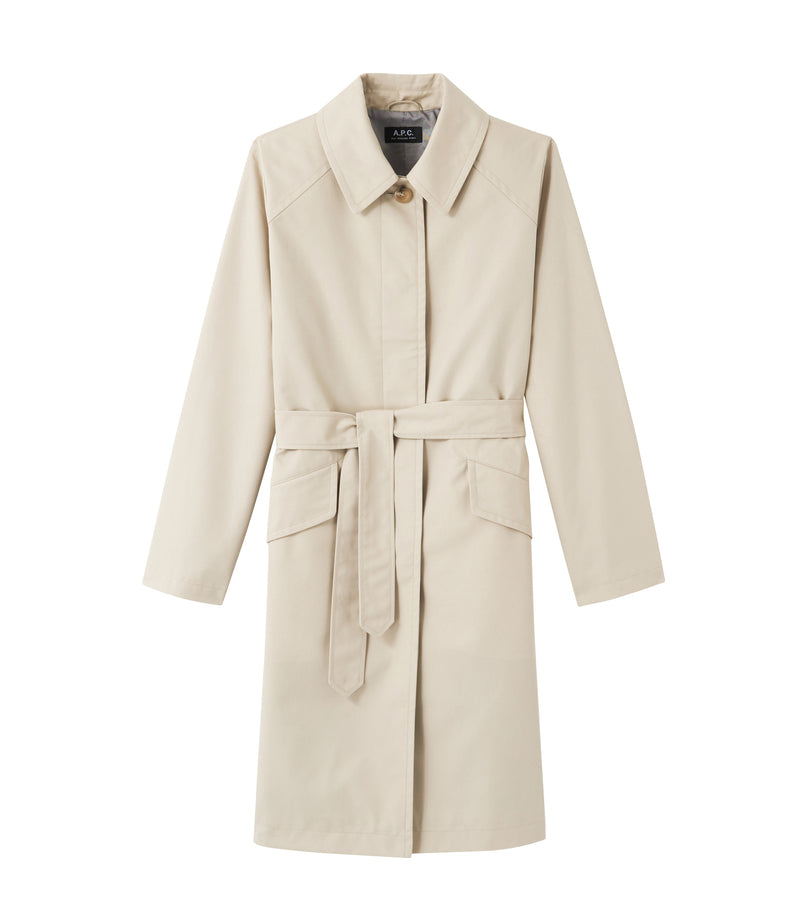 This is the Lucienne raincoat product item. Style AAG-1 is shown.
