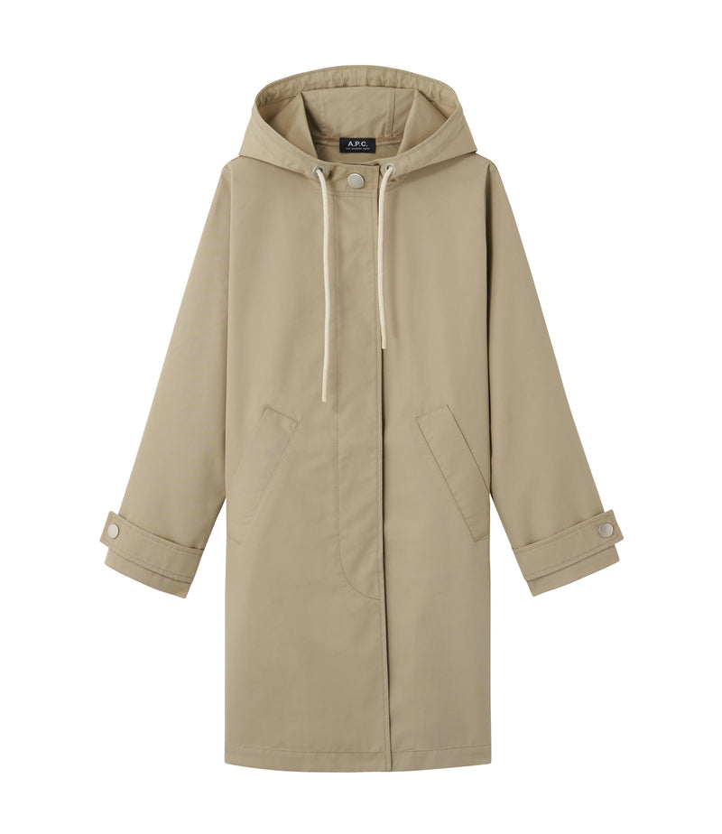 This is the Sussex parka product item. Style BAA-1 is shown.