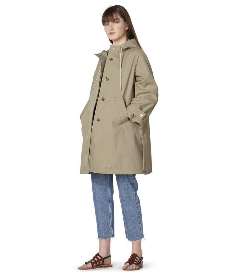 This is the Sussex parka product item. Style BAA-2 is shown.