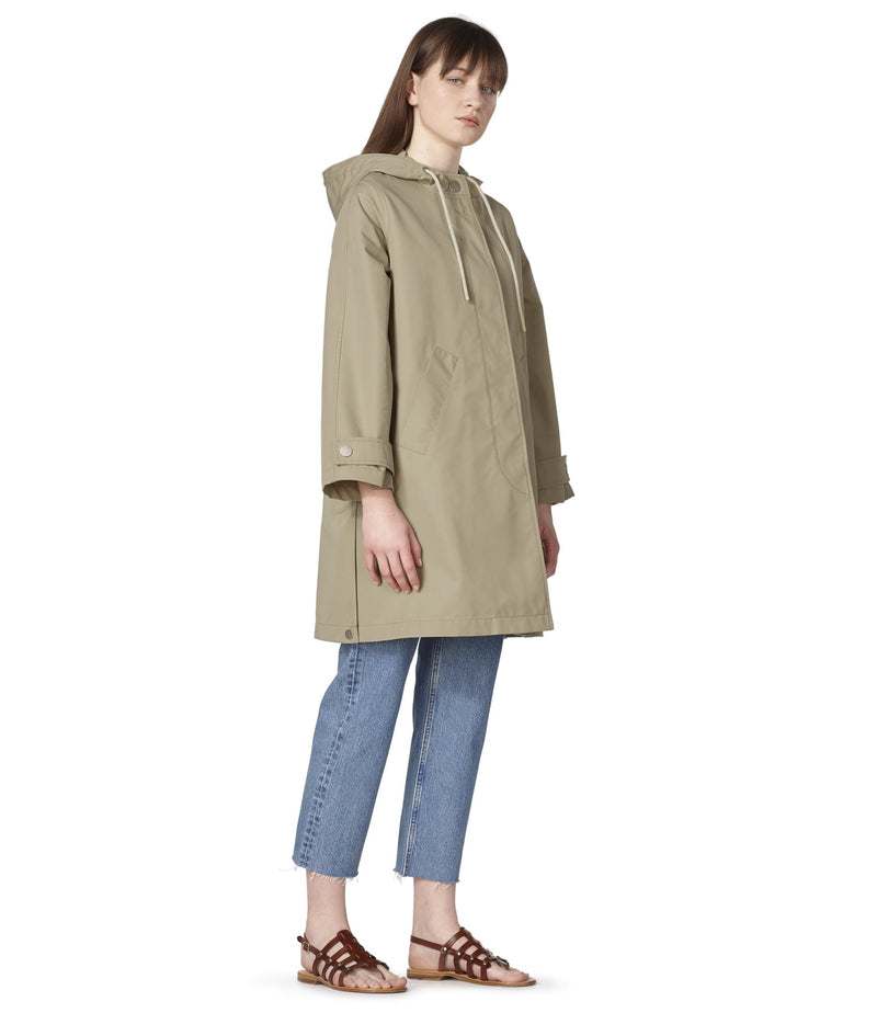 This is the Sussex parka product item. Style BAA-4 is shown.