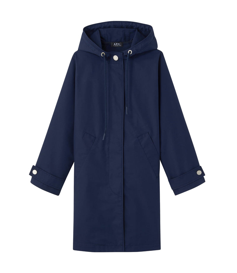 This is the Sussex parka product item. Style IAJ-1 is shown.