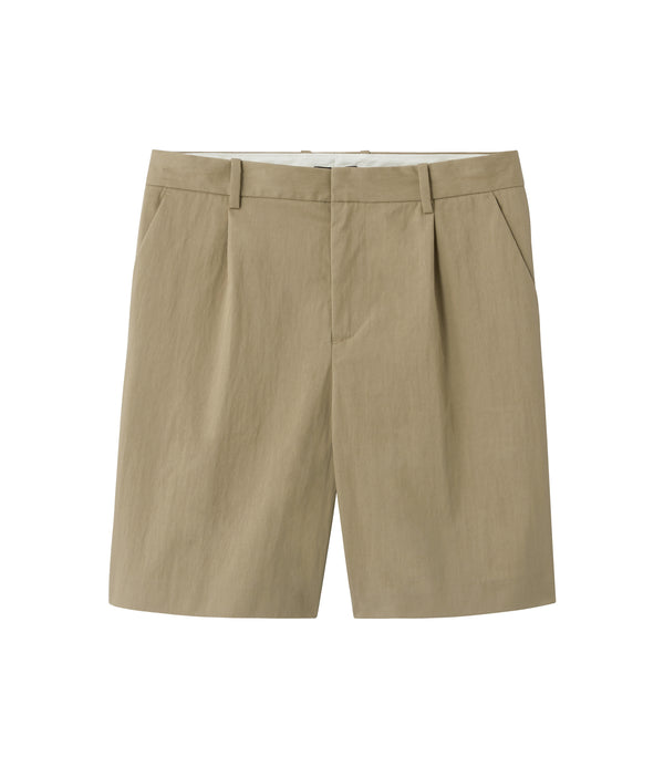 Terry shorts - BAA - Beige