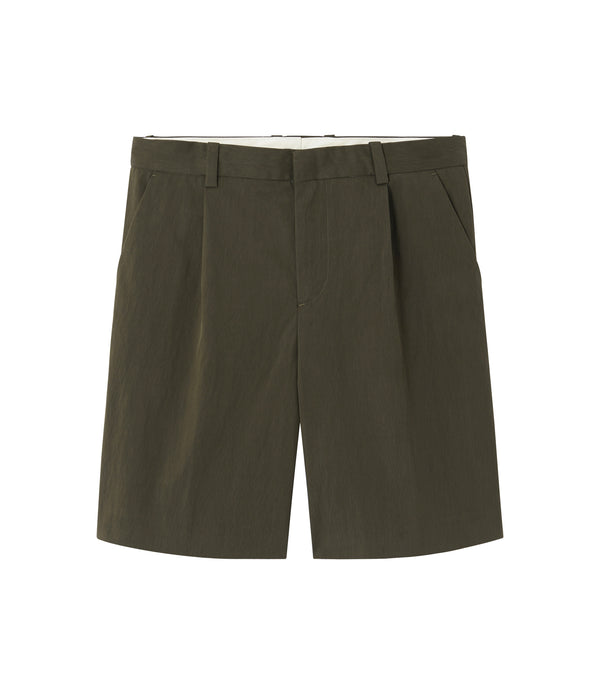 Terry shorts - JAC - Military khaki