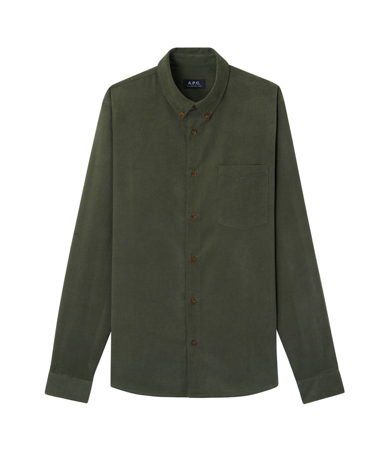 This is the Serges shirt product item. Style JAA-1 is shown.