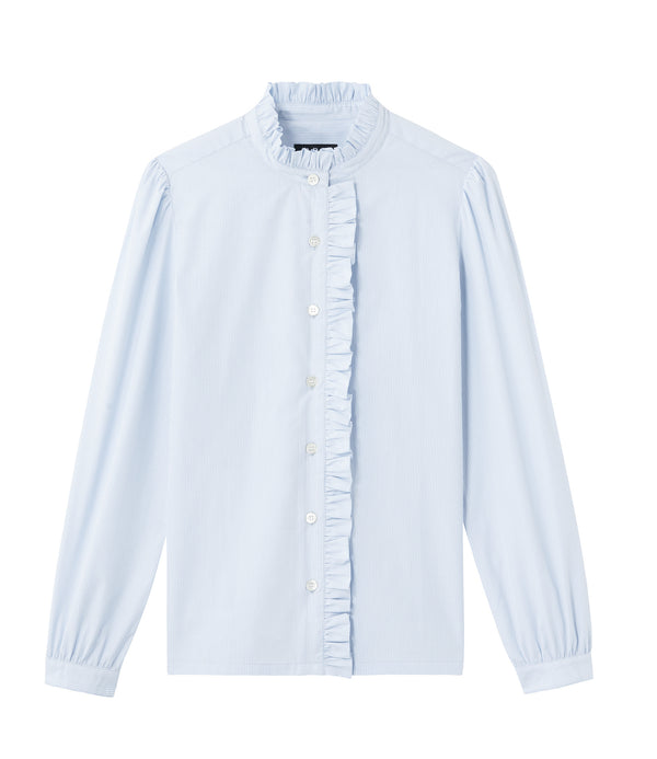 Dunst blouse - IAB - Pale blue