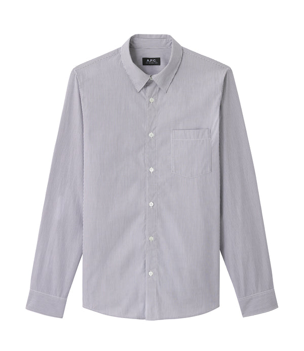 Barthelemy shirt - LAD - Charcoal gray