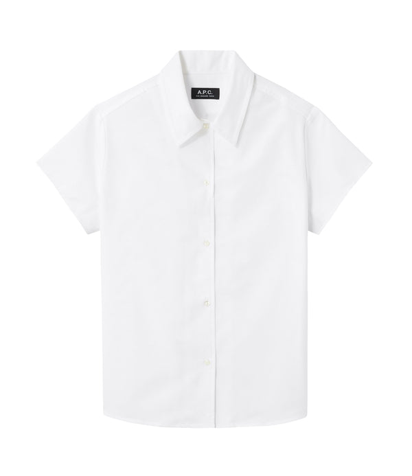 Marina short-sleeve shirt - AAB - White