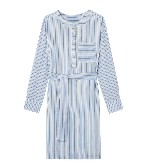 Cyrielle dress - IAB - Pale blue