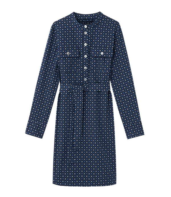 Martine dress - IAJ - Navy blue