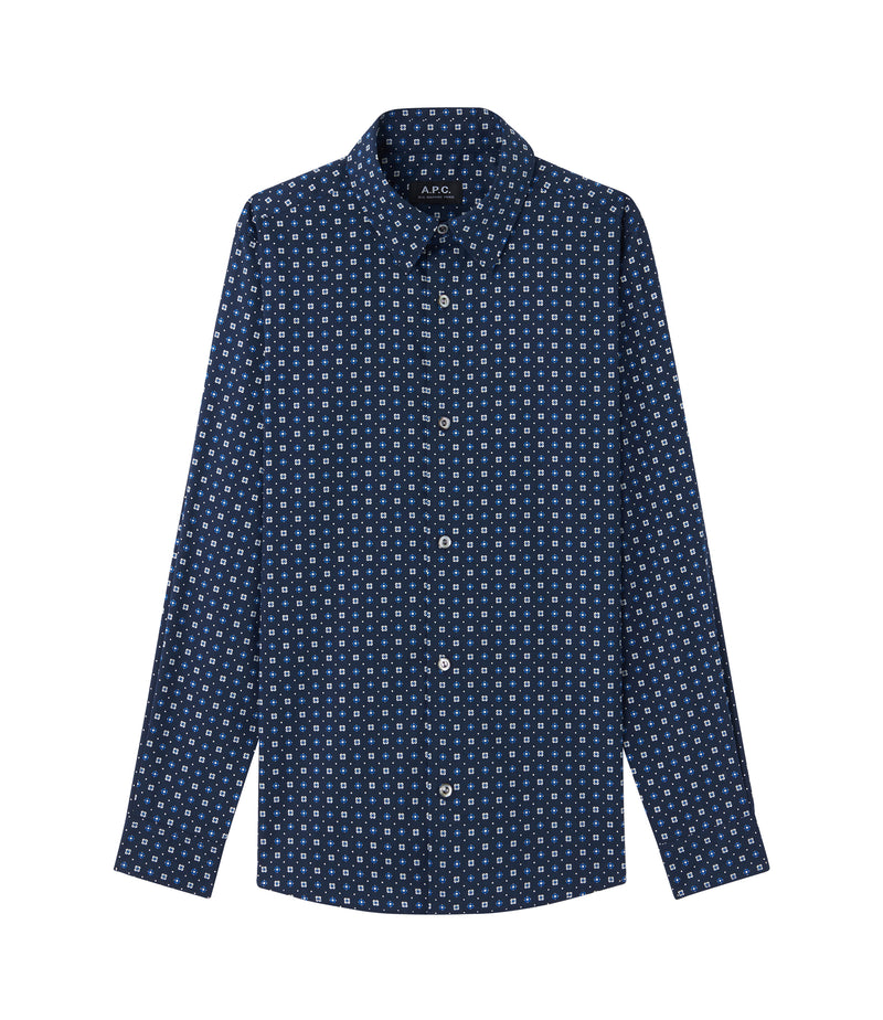 This is the Mireille shirt product item. Style IAJ-1 is shown.