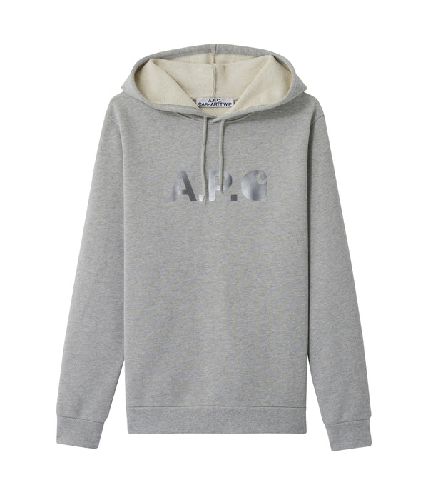 Stash hoodie - PLA - Heather gray
