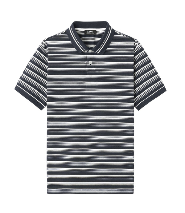 Estéban polo shirt - IAK - Dark navy blue
