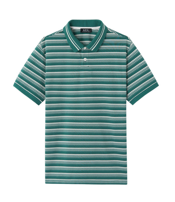 Estéban polo shirt - KAF - Dark green