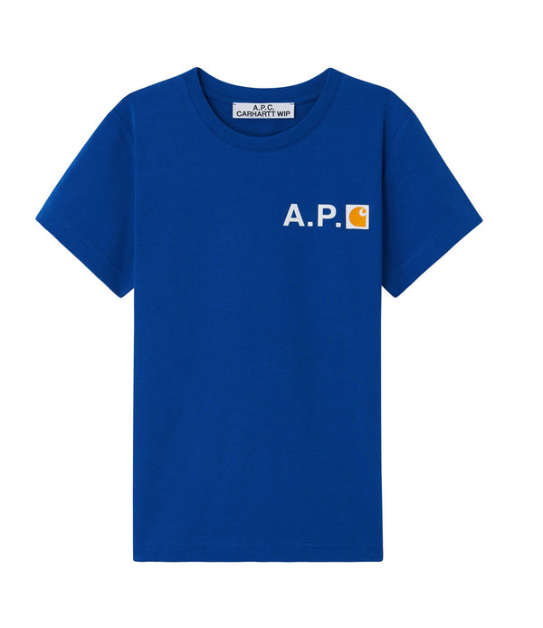 Fire T-shirt - IAG - Royal blue