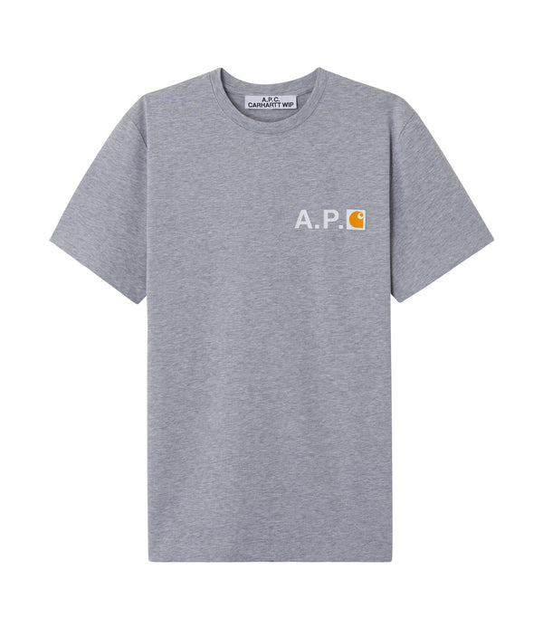 Fire T-shirt - PLA - Heather gray