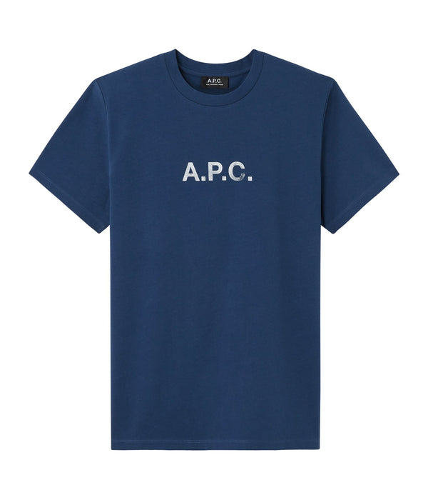 Stamp T-shirt - IAA - Blue