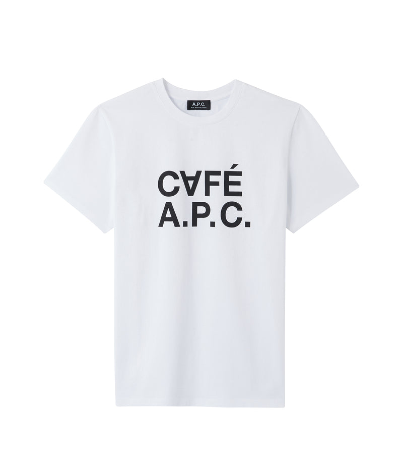 This is the CAFÉ A.P.C. T-shirt product item. Style AAB-1 is shown.