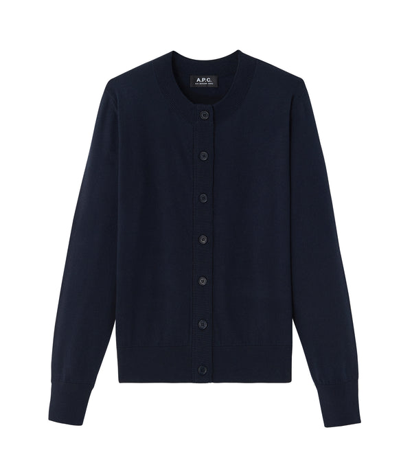 Ninh cardigan - IAK - Dark navy blue