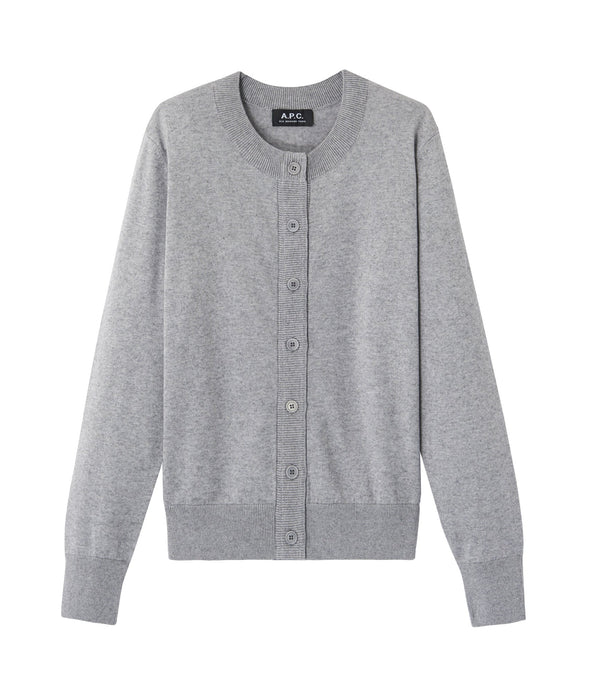 Ninh cardigan - PLA - Heather gray