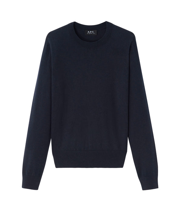 Juliette sweater - IAK - Dark navy blue
