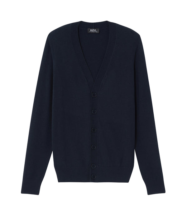 Joseph cardigan - IAK - Dark navy blue