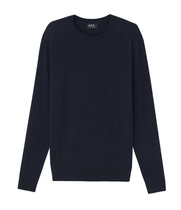 Julien sweater - IAK - Dark navy blue
