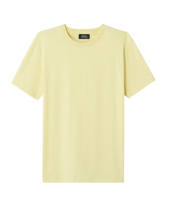 Felix T-shirt - DAB - Pale yellow