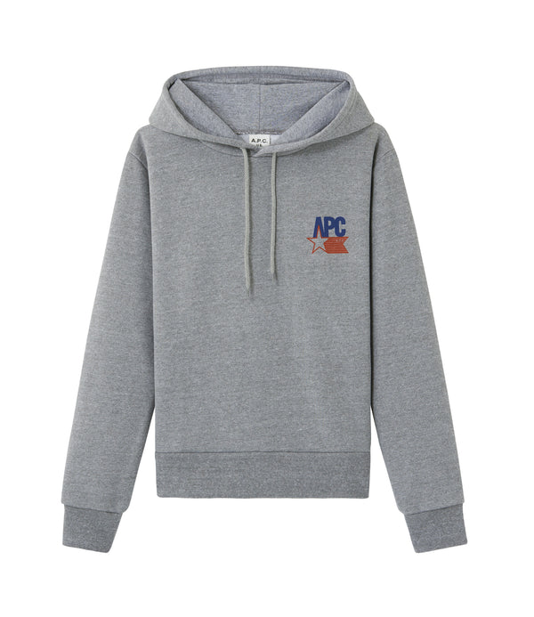 Polonius hoodie - PLA - Heather gray