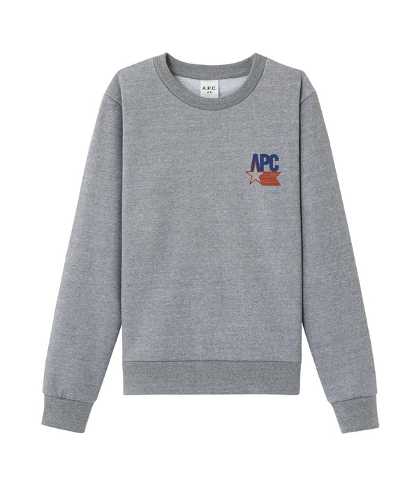 Claudius sweatshirt - PLA - Heather gray