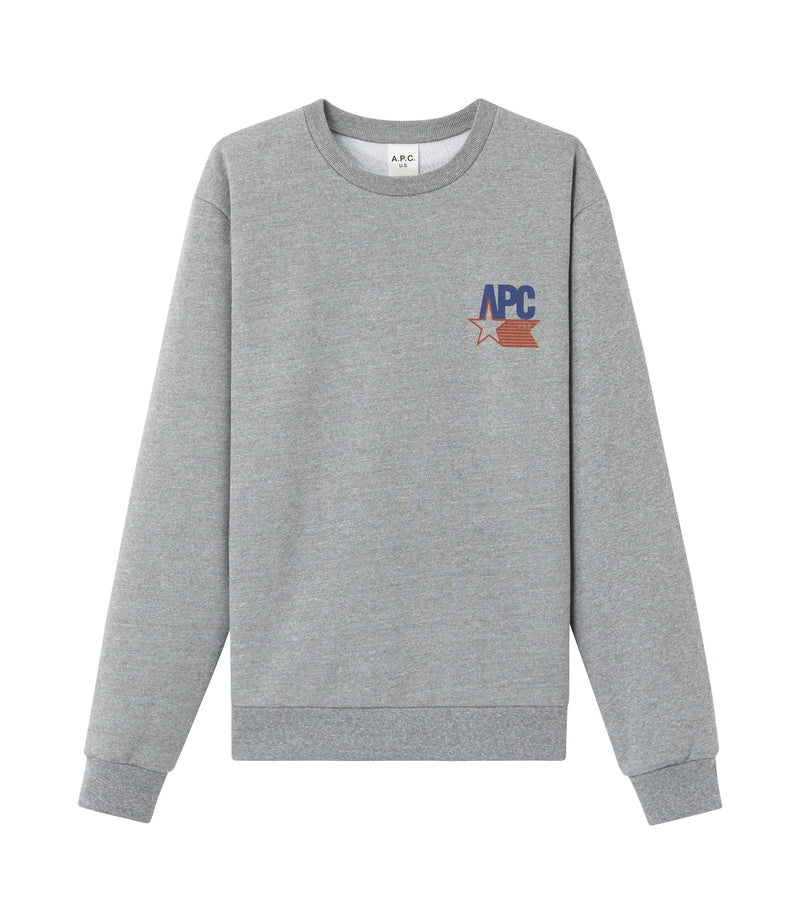 This is the Reynaldo sweatshirt product item. Style PLA-1 is shown.