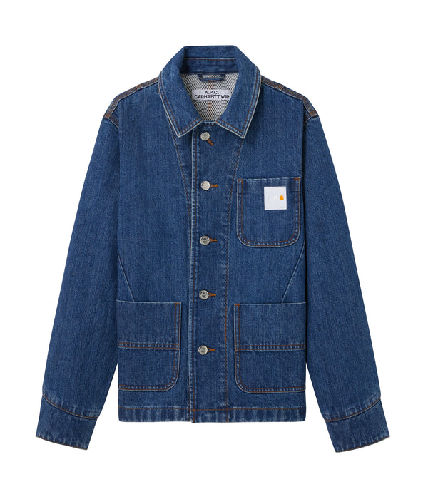 Talk jacket - IAL - Stonewashed indigo