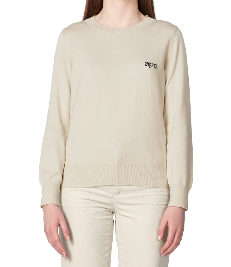 This is the Logo sweater product item. Style AAD-2 is shown.