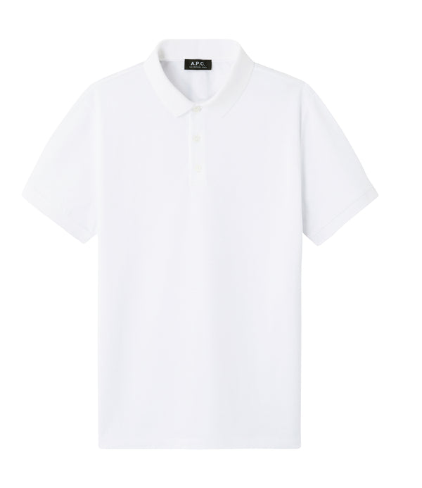 Estéban polo shirt - AAB - White