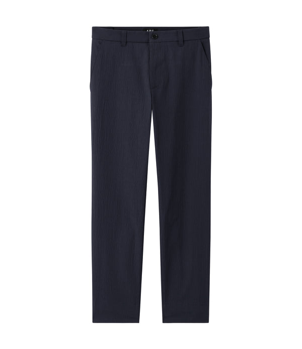 Tom pants - IAK - Dark navy blue