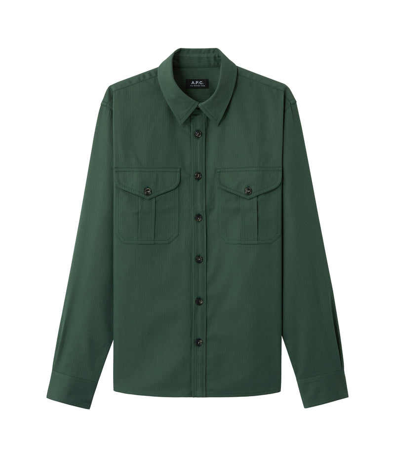 This is the Breton overshirt product item. Style KAF-1 is shown.