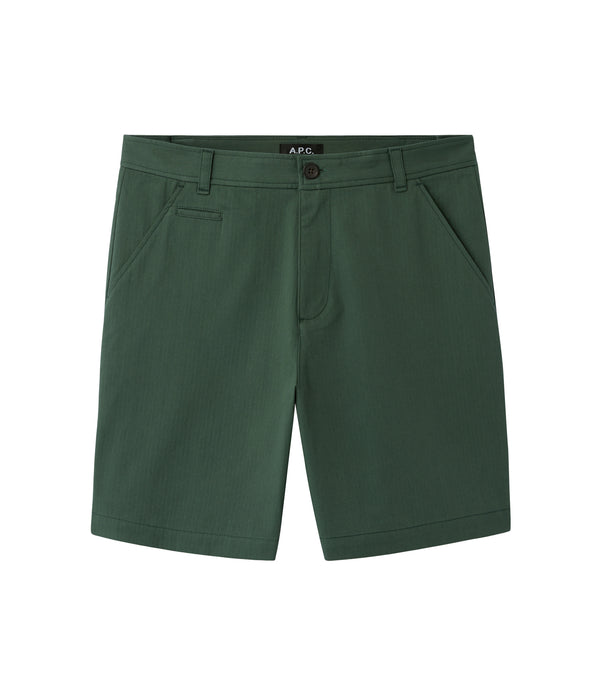 Meg shorts - KAF - Dark green