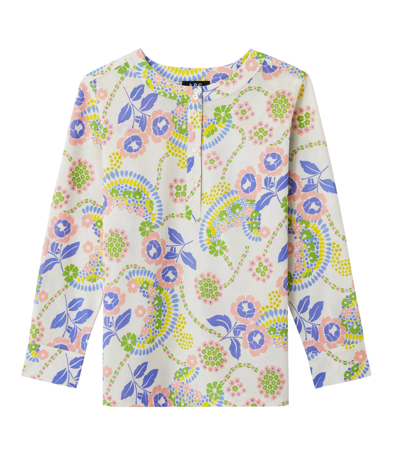 This is the Nine blouse product item. Style IAA-1 is shown.