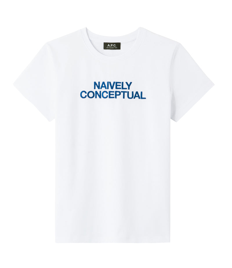 This is the Naively Conceptual T-shirt product item. Style AAB-1 is shown.