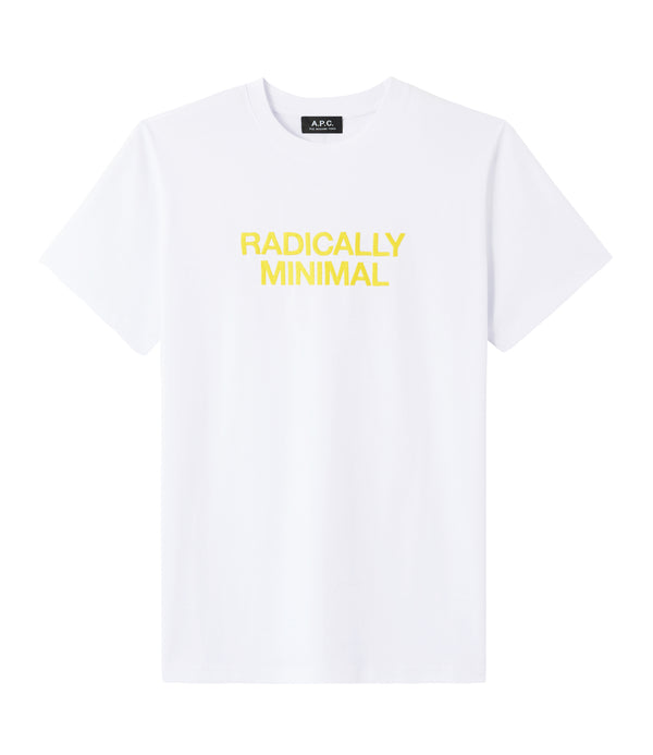 Radically Minimal T-shirt - AAB - White