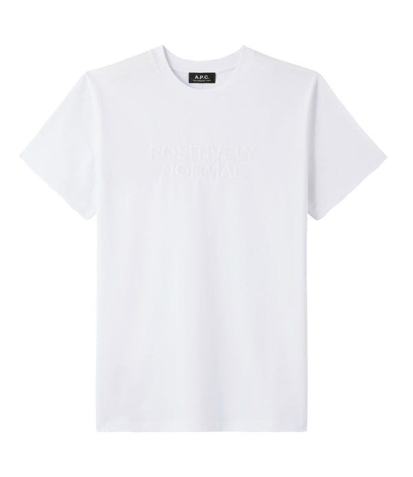 Positively Normal T-shirt - AAB - White