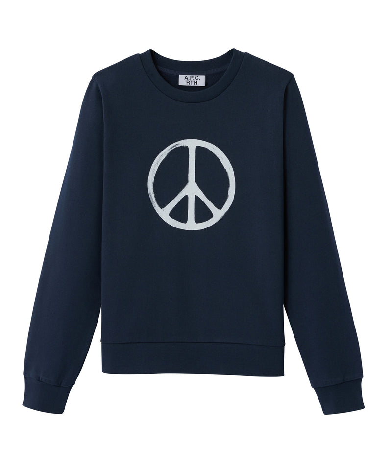 This is the RTH Peace symbol sweatshirt product item. Style IAK-1 is shown.
